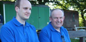 Arne und Wolfgang Cordsmeier – Sohn und Vater – haben die Ruhe weg für schwierige Manöver.